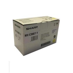 Original Sharp MX-C30GTY Tonerkartusche Yellow